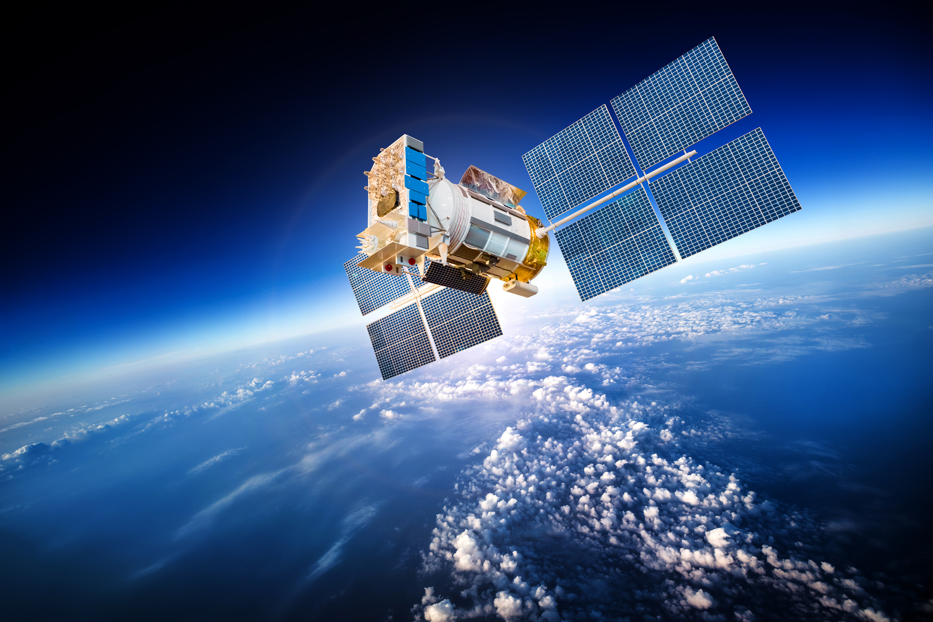 shutterstock_229816288Satellite-in-Orbit
