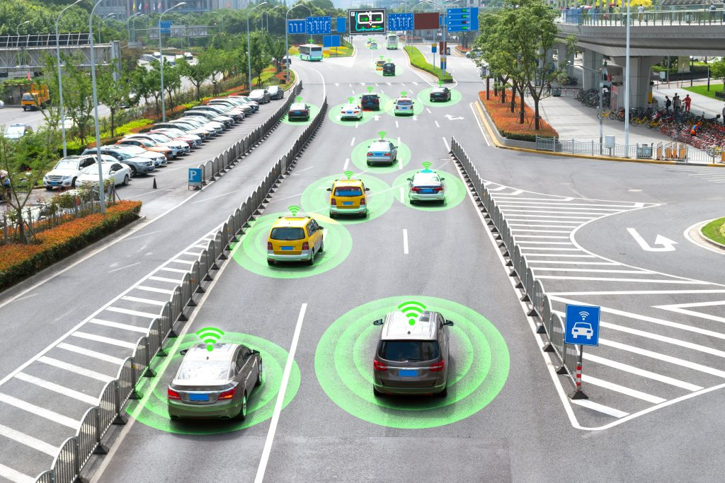 Hybrid Communications for Connected Autonomous Vehicles (CAV)