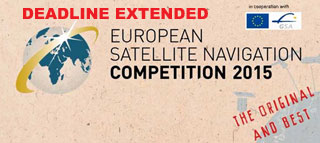 Deadline Extended for European Satellite Navigation Competition