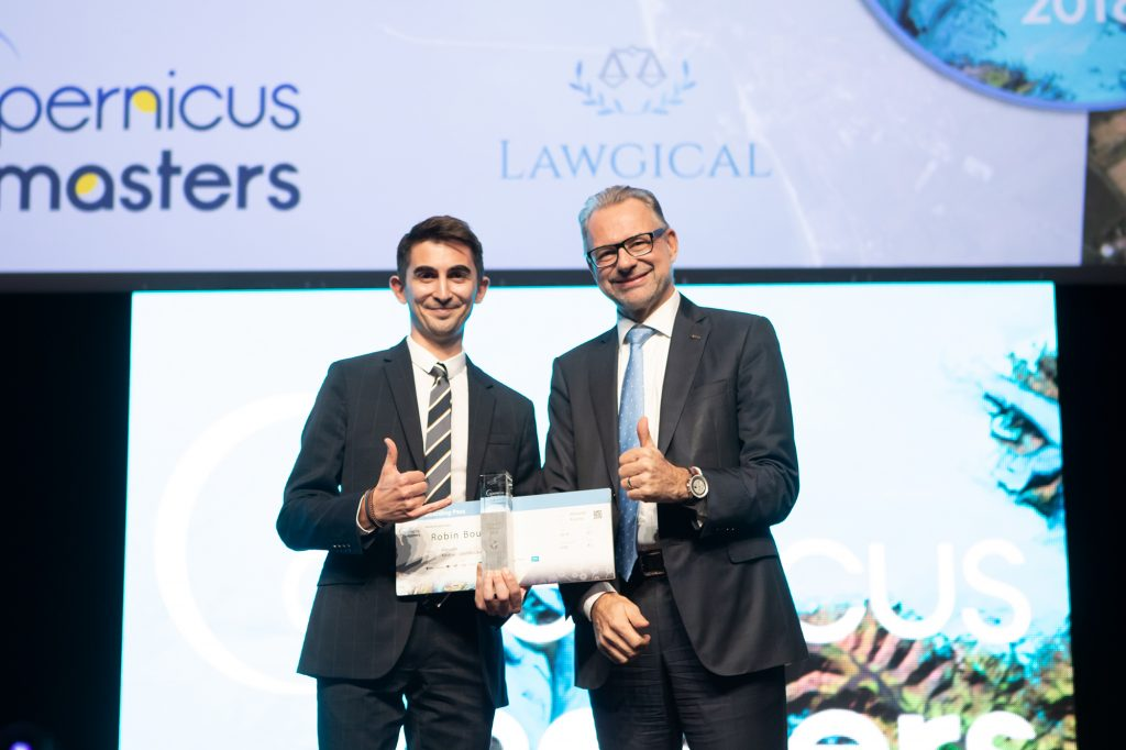 Overall Winner of Copernicus Masters 2018 Announced